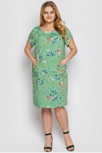 Сукня «Веста» фісташкового кольору