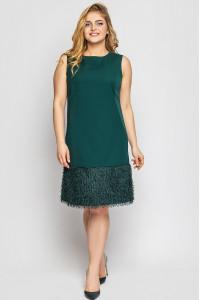 Сукня «Паллада» смарагдового кольору