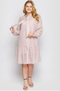 Сукня «Ера» кольору пудри