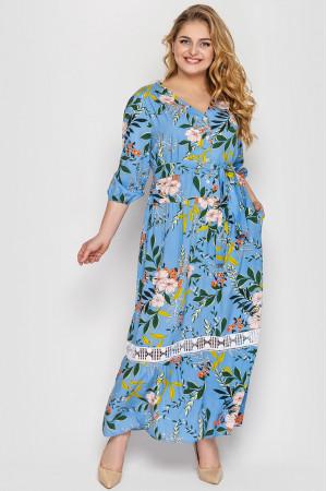 Сукня «Ліза» блакитного кольору