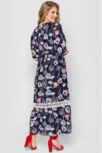 Платье «Лиза» синего цвета