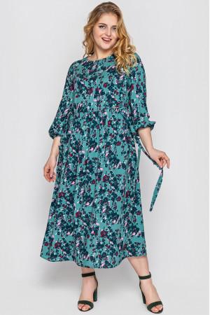 Сукня «Ярослава» смарагдового кольору