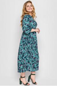 Платье «Ярослава» изумрудного цвета