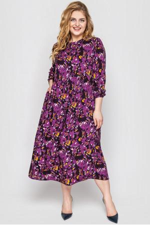 Сукня «Ярослава» фіолетового кольору