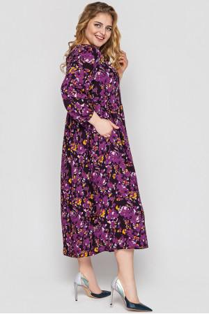 Платье «Ярослава» фиолетового цвета
