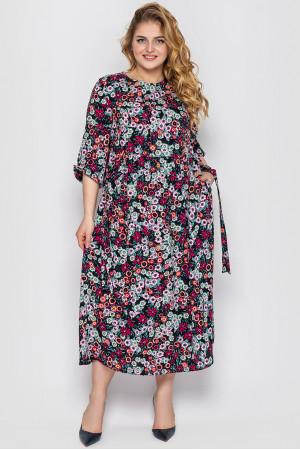 Сукня «Ярослава» чорного кольору