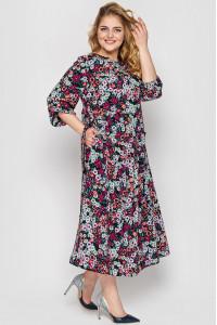 Платье «Ярослава» черного цвета