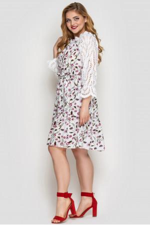 Сукня «Матильда» білого кольору