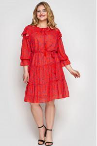 Сукня «Валенсія» коралового кольору