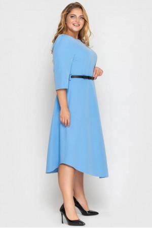 Платье «Патриция» голубого цвета