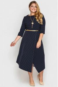 Платье «Патриция» синего цвета