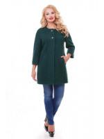 Пальто «Деррі» зеленого кольору