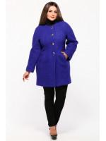 Пальто «Камбриа» синего цвета