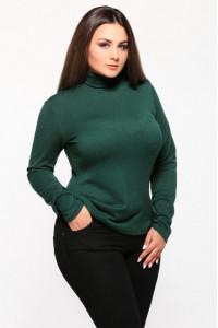 Гольф «Мэгги» зеленого цвета