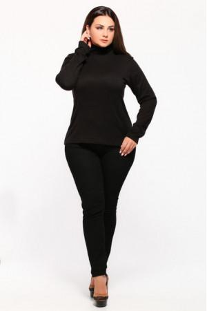 Гольф «Мэгги» черного цвета
