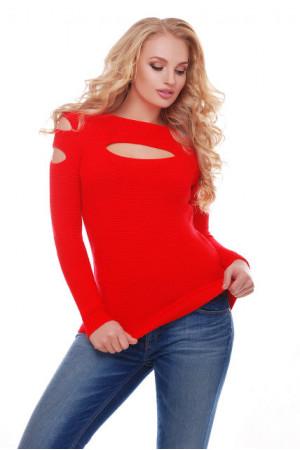 Джемпер «Меллі» червоного кольору