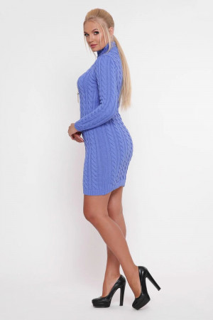 Сукня «Коси» волошкового кольору