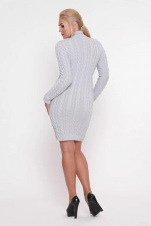 Платье «Косы» жемчужного цвета