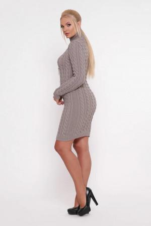 Платье «Косы» цвета беж