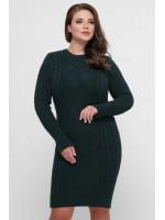 Платье «Карол» зеленого цвета