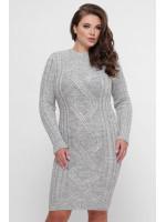 Платье «Карол» серого цвета