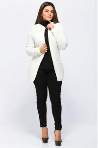 Кардиган «Крема» білого кольору