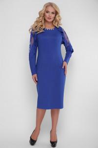 Платье «Рамина» цвета электрик