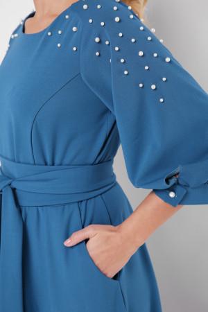 Платье «Вивьен» бирюзового цвета