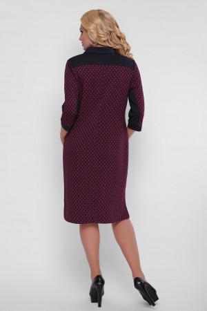 Платье «Мадлен» с узором-лилией