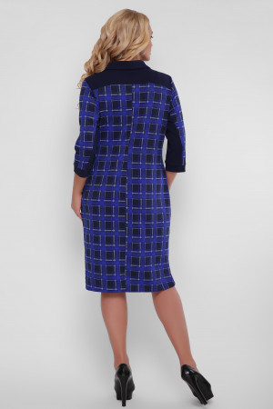 Платье «Мадлен» с узором-окошками
