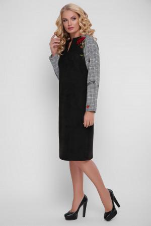 Платье «Леда» черного цвета