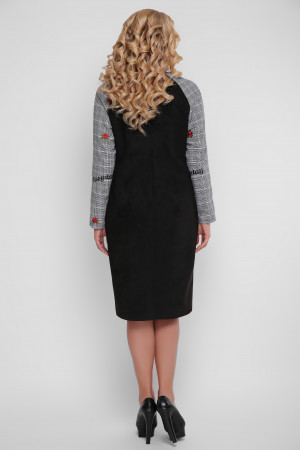 Сукня «Леда» чорного кольору