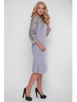 Платье «Аннэт» цвета жемчуга