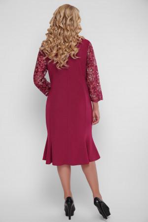 Сукня «Аннет» кольору марсала