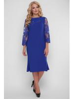 Платье «Аннэт» цвета электрик