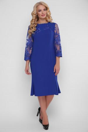 Сукня «Аннет» кольору електрик