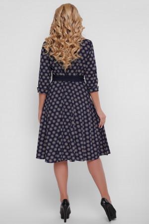 Платье «Луиза» с ночным принтом