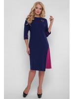 Платье «Ванда» синего цвета