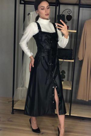 Сарафан «Торі» чорного кольору