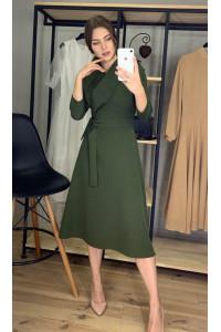 Сукня «Анкона» кольору хакі
