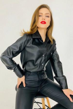 Блуза «Даркі» чорного кольору