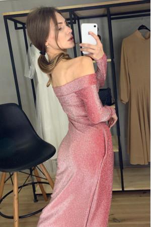 Сукня «Діора» бордового кольору