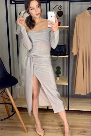 Сукня «Діора» сріблястого кольору