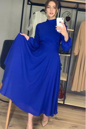 Платье «Влада» синего цвета