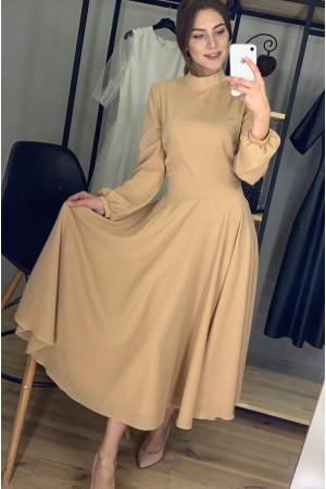 Платье «Влада» бежевого цвета