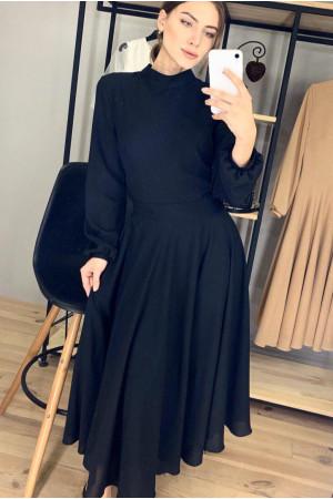 Платье «Влада» черного цвета