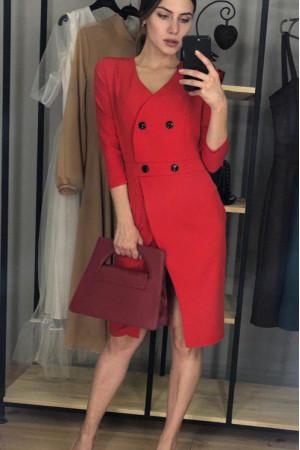 Сукня «Вікторія» червоного кольору