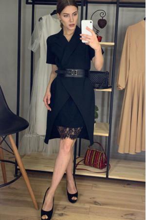 Платье «Арина» черного цвета