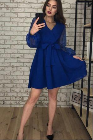 Сукня «Еріка» кольору електрик