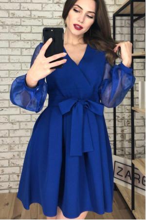Платье «Эрика» цвета электрик